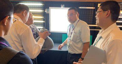 機械系系主任擔任僑委會綠能產業参訪的顧問